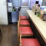 天ぷら ますい - カウンター席
