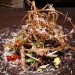 91988337 - 旬野菜とイタリアンハーブのシンプルなサラダ