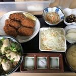 かき小屋 小江戸 - ♪小江戸定食¥1200