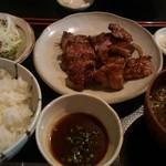 91988617 - ステーキ定食(\1,380)