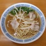 百万堂 - 料理写真:中華そば(380円)