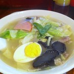 麺味 - 五目ラーメン 700円