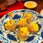 麺味 - コーンシュウマイ 370円