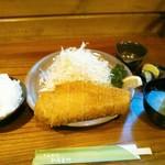 とんかつ ひろまつ - 料理写真:王様 リブ・ロースかつ定食 1870円(税込)