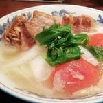 Hakuryuutomatokan - 角煮トマト湯麺¥1,340+税