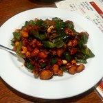 運城飯店 - 料理写真:鳥とカシューナッツ炒め