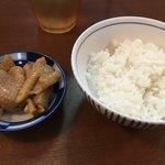 91994197 - 鶏皮+ご飯のセット(セットA)