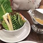 洋食亭 ブラームス - コンビネーションサラダ