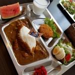 元海軍さんのお店 - 料理写真:チキン海軍カレー 1100円