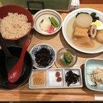 おぐ羅 - 「7品おでんだし茶漬け定食」1650円