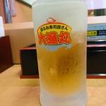 大漁丸 - 2018年9月 生ビール
