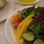 91997734 - サラダ みずみずしくてとっても美味♪