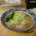 麺屋 黒船 - 塩葱ラーメン