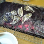 カキの徳栄丸 - 焼き牡蠣
