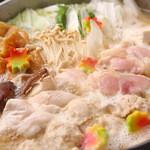 朝引き鶏と焼酎 ぼっけもん - 霧島鍋