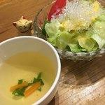 びーんず - スープとサラダ