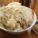 もみじ屋 - 料理写真:ラーメン300g(野菜,ニンニク,アブラ)