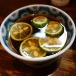 中華そば いぶき - つけ汁