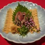 旬の味 絹や - 秋刀魚刺