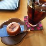 まる桜花ふぇ - 料理写真:コーヒーとお菓子のセット