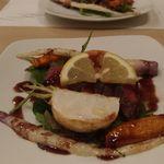 ベジ&フィッシュ - 野菜のグリル