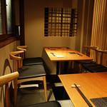 酒盃 いち膳 - 1階テーブル席