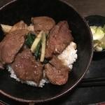 92003762 - ユック丼(鹿肉丼)