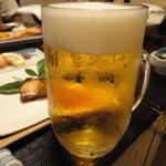 こいさん - 生中ビール