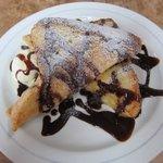 バーズイン カフェ - フレンチトースト(チョコレート)