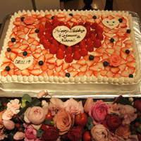 ル パティオ - 自家製WeddingケーキはオリジナルデザインOK!