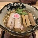 ラーメン考房 平成呈 - 元祖飛魚正麺 980円+増し極太メンマ 180円