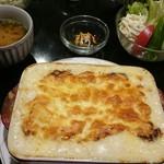 手作り洋食の店 ぱ・らんて - 自家製チーズドリア みそ汁サラダ付き 1100円