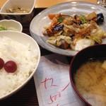 92016952 - 茄子肉味噌炒め定食