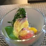 プティ ジャルダン - 料理写真:ごあいさつの一品:ローストビーフのサラダ