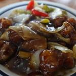 清香園 - 料理写真:黒酢酢豚