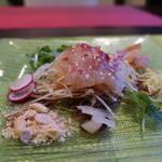 Chinese Restaurant Season - 天然明石鯛の刺身