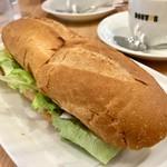 ドトールコーヒーショップ - 料理写真:期間限定ミラノサンド 国産グリルビーフ 440円 (税込)