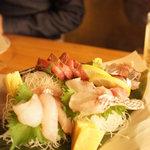 湘南の魚とワインの店 ヒラツカ - 鮮魚盛り合わせ♪
