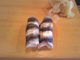 柳鮨 - 本物のしんこ握り