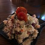 LOCAL BAR 新栄EIGHT - 8種の具材のエイトのポテトサラダ ポテトサラダでありながら重さはなく、新鮮野菜がたっぷりで軽い旨さ♪ 2018/09/01