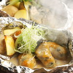 牡蠣のホイル焼き【バター醤油・味噌焼き】