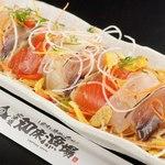 鮮魚たっぷり!知床お刺身サラダ
