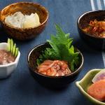 北海道珍味など酒のあてが充実!