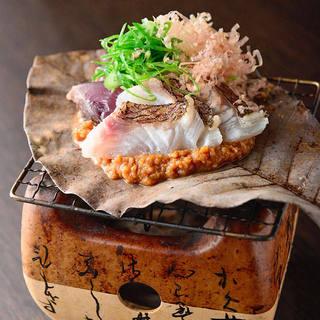 《一品料理》朴葉味噌焼き