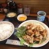 焼肉ハウスモンモン - 料理写真:トリ天定食