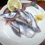 やっこ - 秋刀魚のお造り