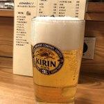 にしきや - 生ビール