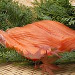 天ぷら新宿つな八 - 秋に旬を迎える『鮭』