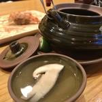 92043056 - 松茸の土瓶蒸し