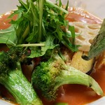 トマト麺 Vegie - トマト麺野菜大盛
